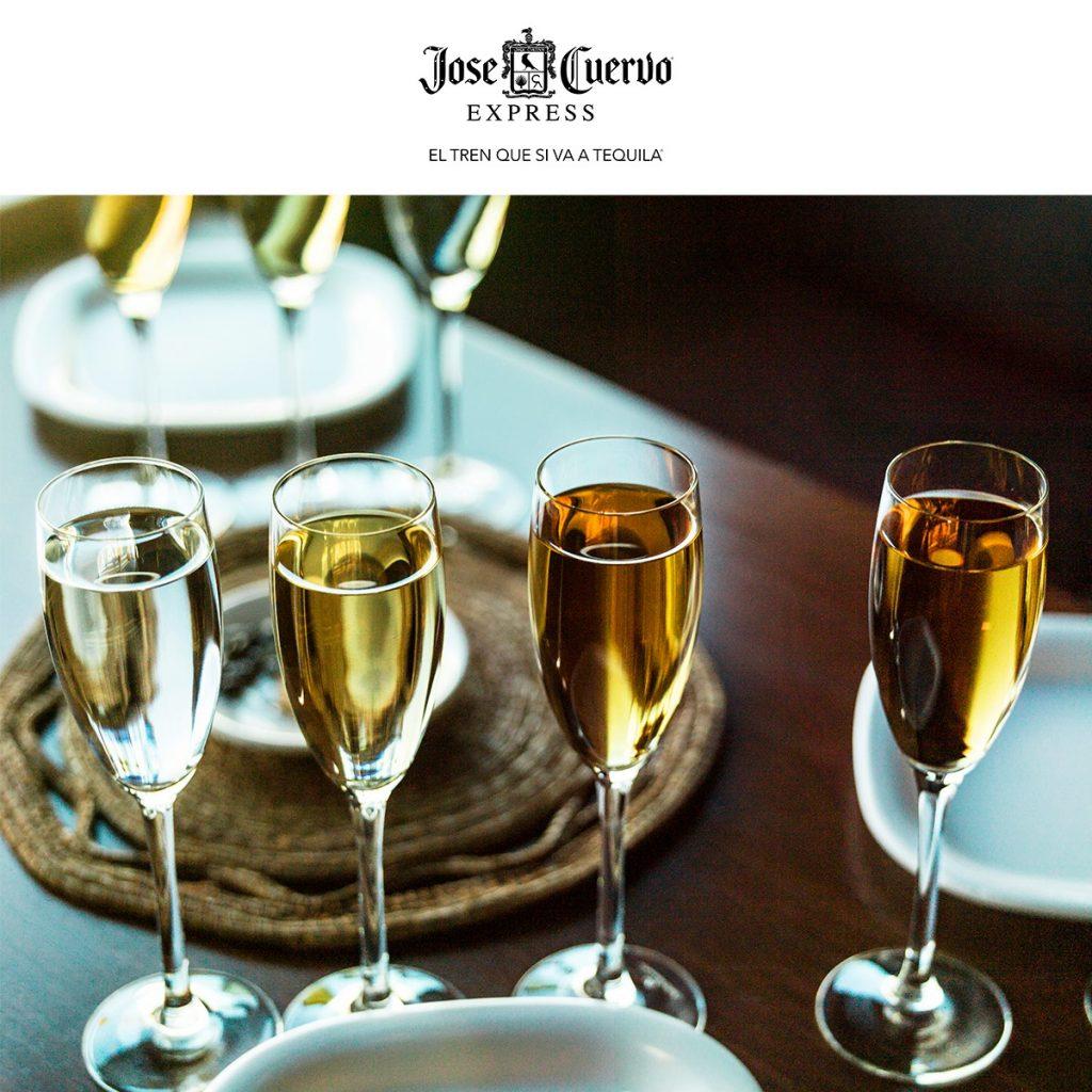 cata de tequila de Jose Cuervo